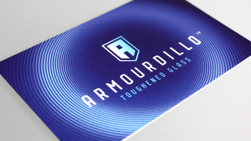 NEW IDENTITY FOR ARMOURDILLO TOUGHENED GLASS