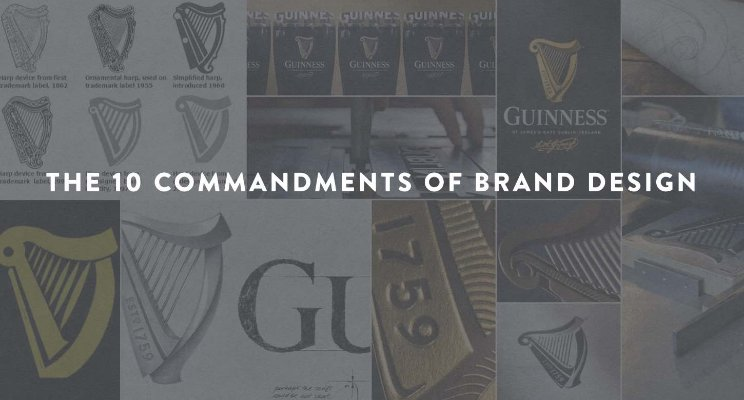 THE 10 COMMANDMENTS OF BRAND DESIGN