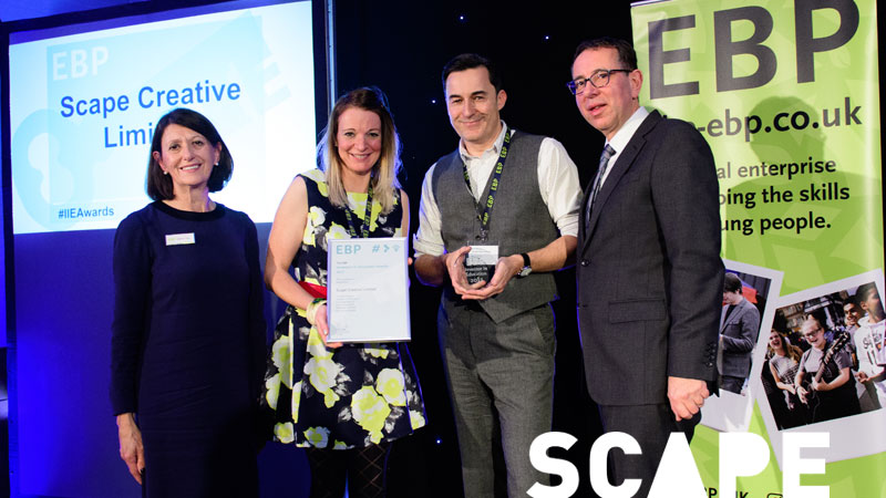 SCAPE CREATIVE WINS AWARD